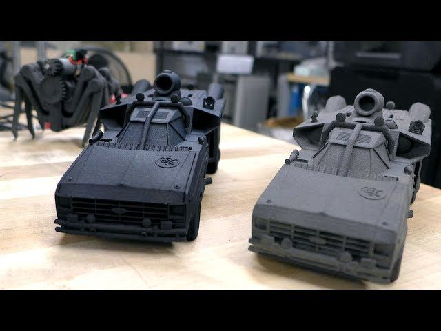 Formlabs Fuse 1 SLS 3D Printer Demo!: Tested Formlabs Fuse 1 SLS 3D Printer Demo! http://www.tested.com Wed, 06/07/2017 - 10:27 AM