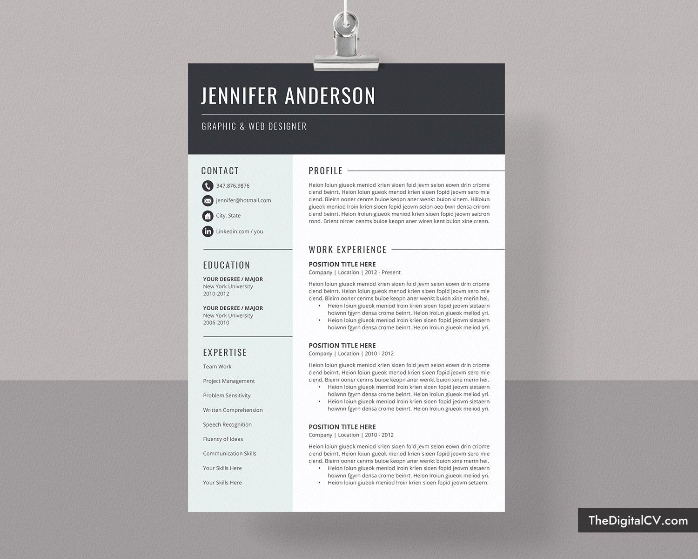 Free Resume Template Word 2020