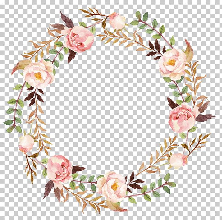 Poprawiony Zaproszenie Na Slub Papierowy Wianek Wieniec Z Kwiatow Rozowa I Zielona Piwonia Watercolor Flower Wreath Hand Painted Roses Flower Illustration