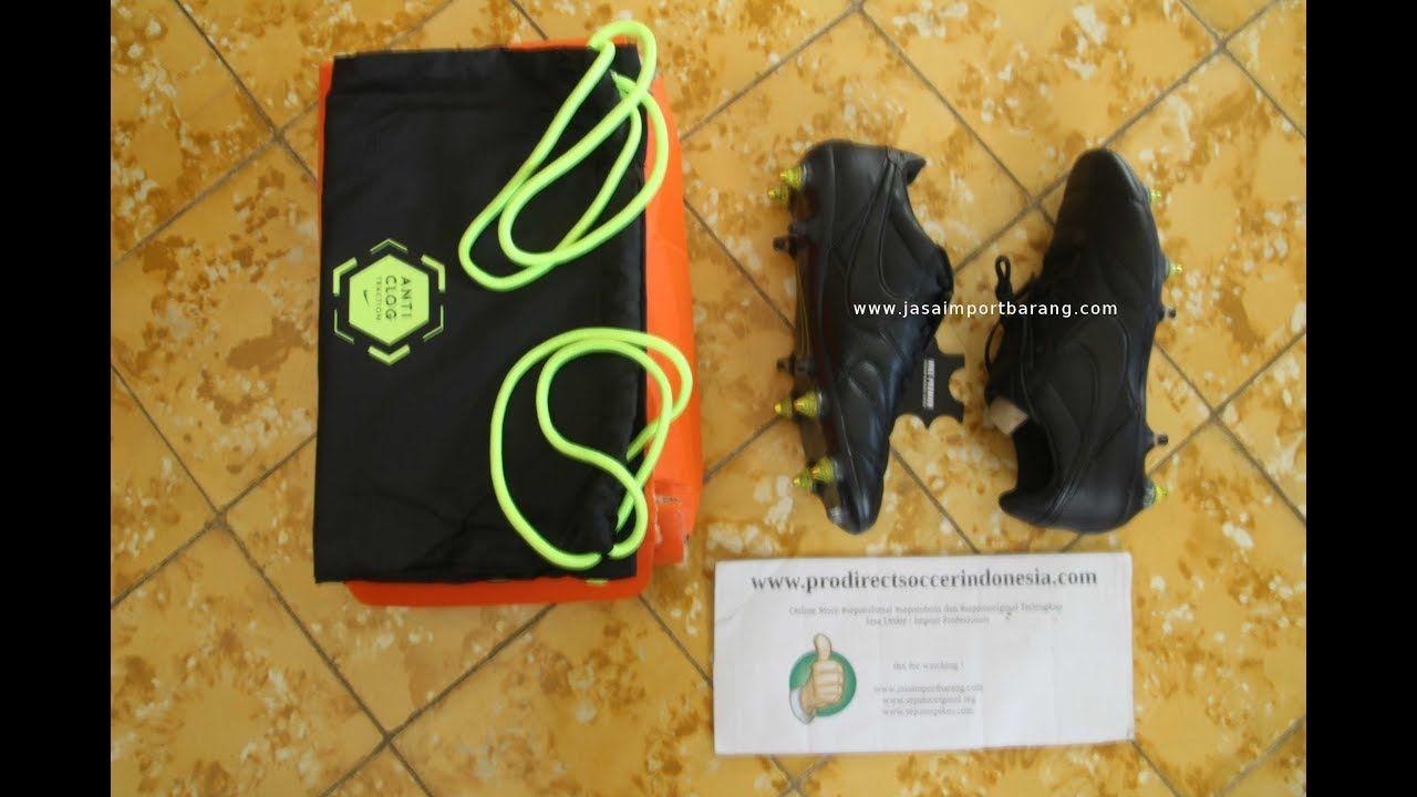 Sepatu Bola The Nike Premier Ii Sg Pro Anti Clog Black 921397 003