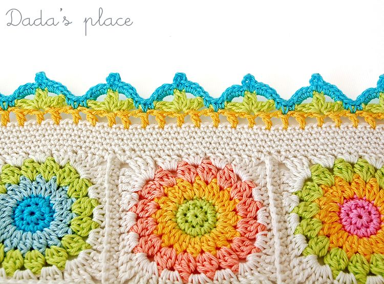 Beautiful crochet edge free pattern   pintadas gancho   Pinterest ...