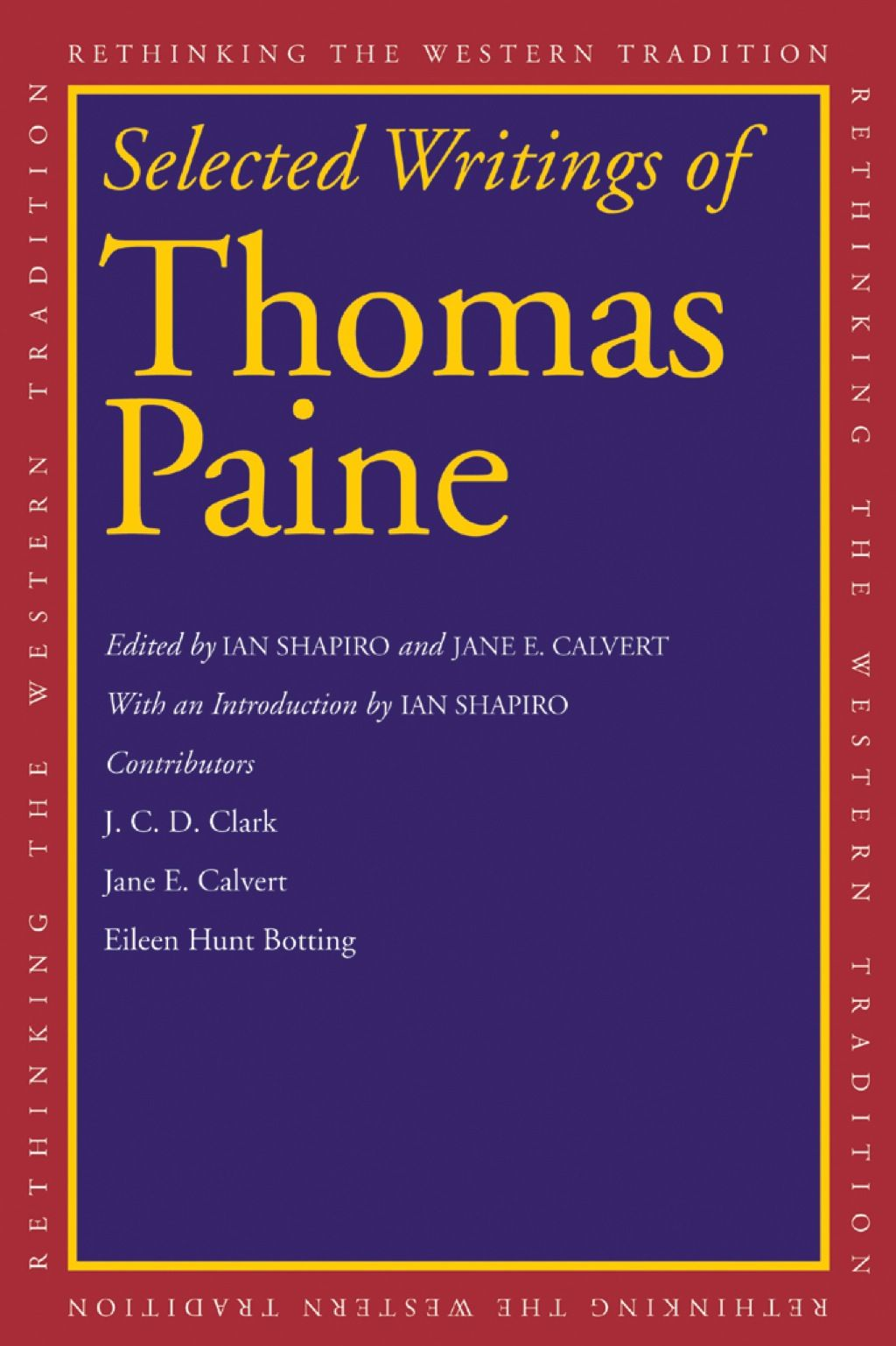 Selected Writings Of Thomas Paine Ebook
