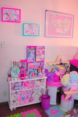 Pin de emily en interior pinterest ideas para for Cuartos decorados kawaii