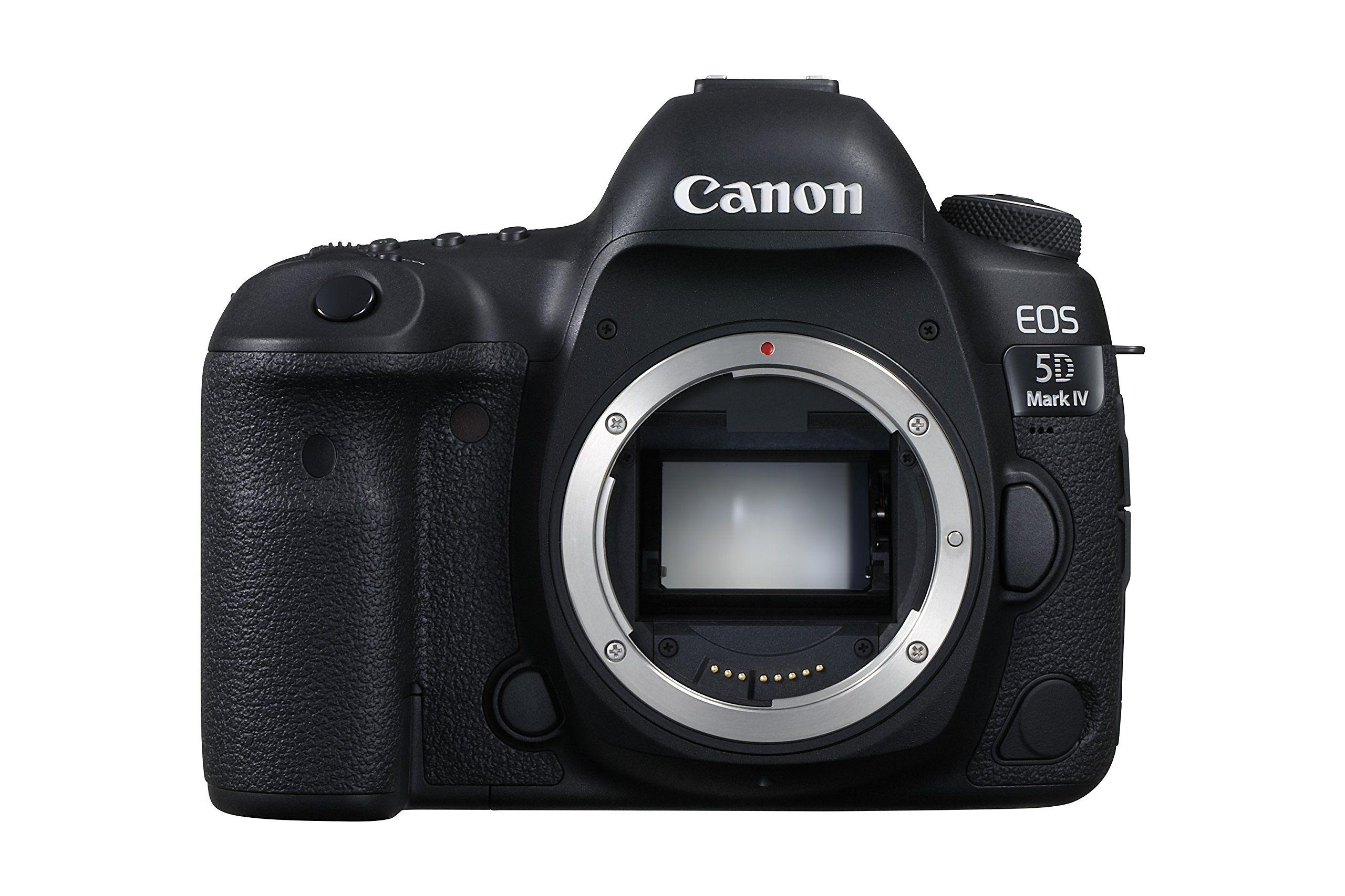 Canon EOS 5D Mark IV Full Frame Digital SLR Camera Body   Digital ...