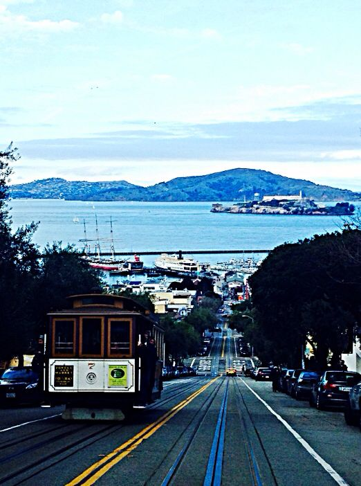 Hyde Street cable car, San Francisci