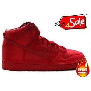 Womens Nike Dunk High Vandal Premium Red  5042ff403
