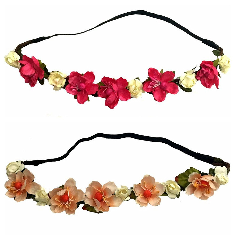 2 pcs set woven floral hair band flower headband crown beach party 2 pcs set woven floral hair band flower headband crown beach party check izmirmasajfo Gallery