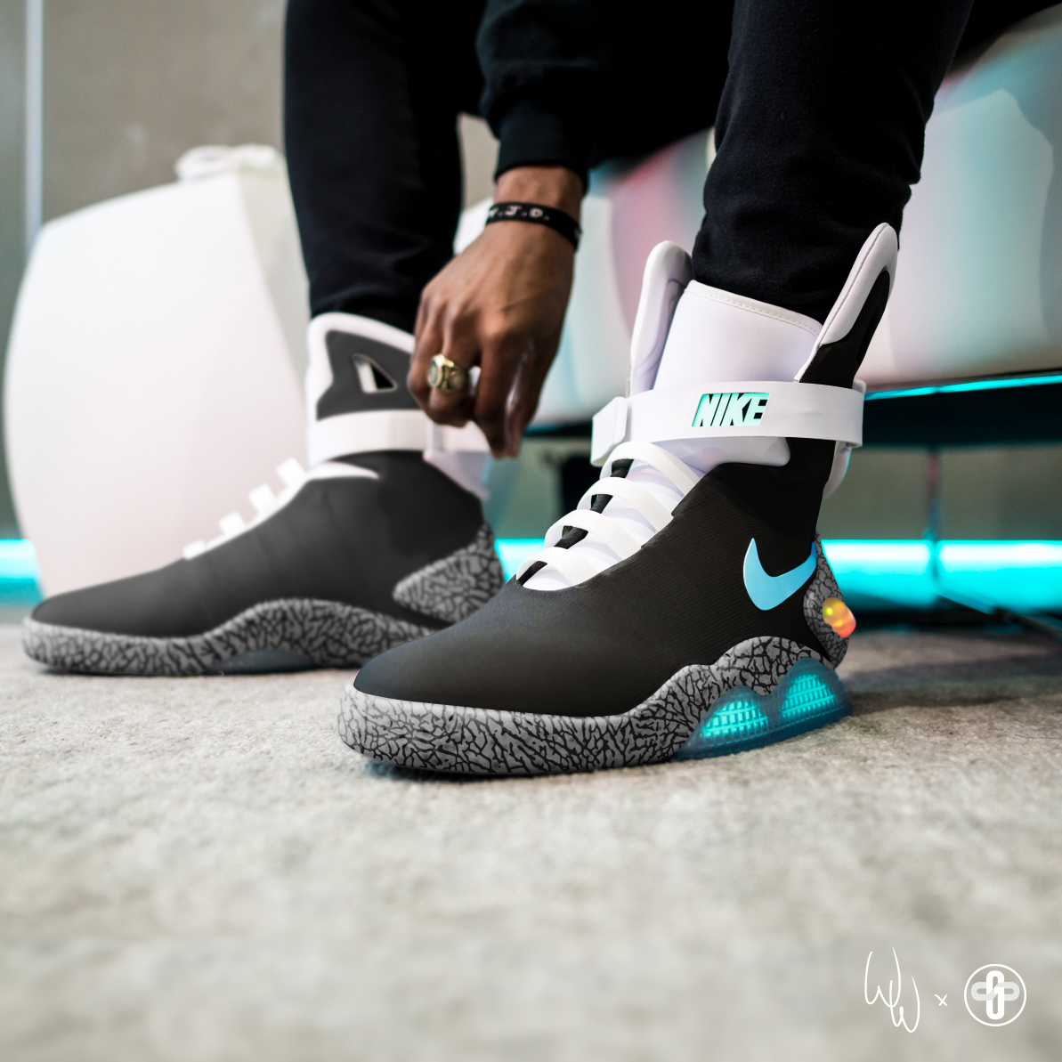 f4ad48678d Nike MAG Atmos Elephant | everyday style in 2019 | Nike mag, Nike ...