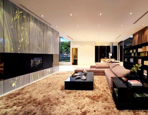 Modern luxury interior design of singapore residential property verdana villas also rh pinterest