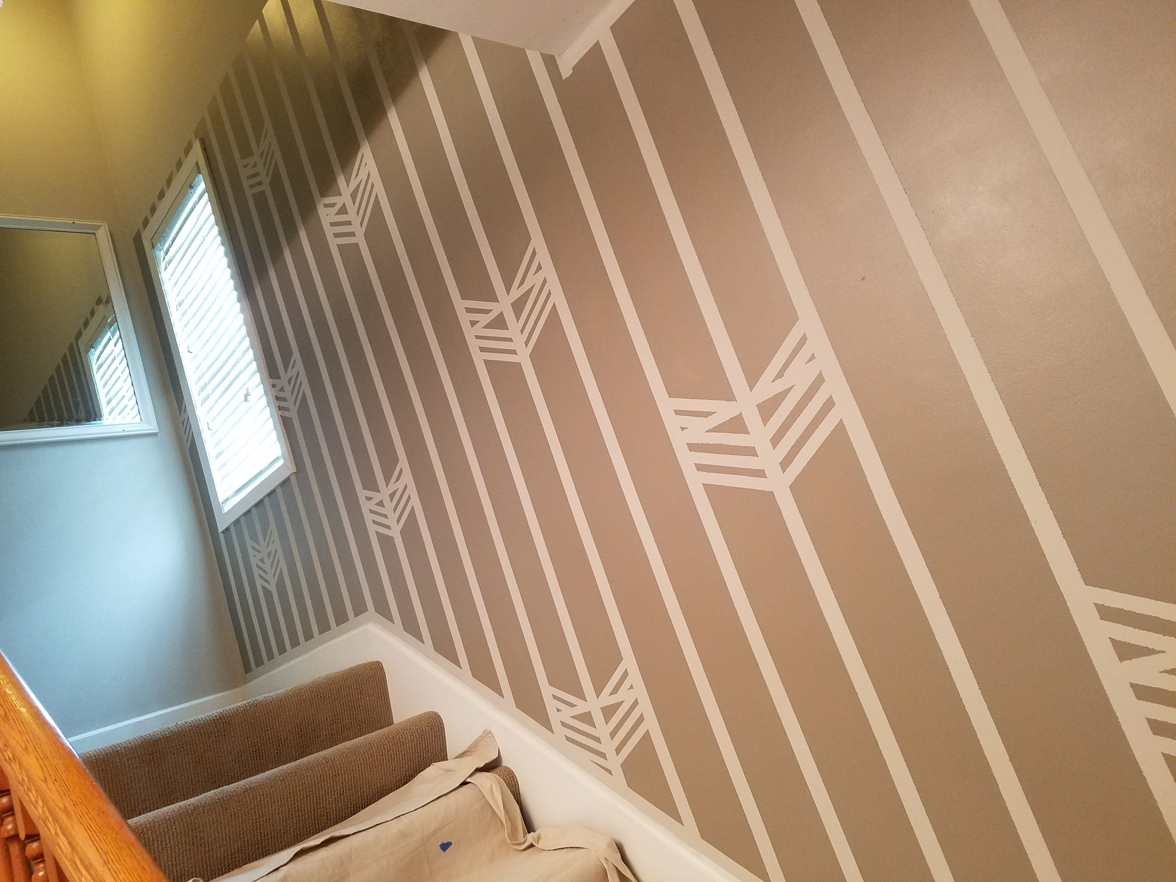 Frank lloyd wright inspired stairwell paint design do t yourself frank lloyd wright inspired stairwell paint design do t yourself woodworking prjt spring is fast mng solutioingenieria Image collections