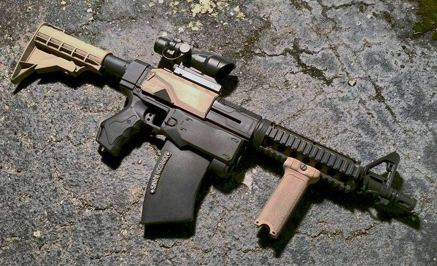 Custom Tactical Nerf Recon M4 Carbine