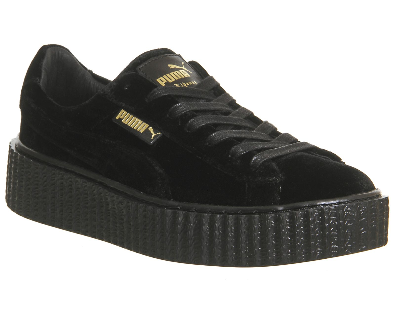competitive price 45b38 d5e29 Puma Velvet Creepers Black Velvet Fenty | OFFICE | Newness ...