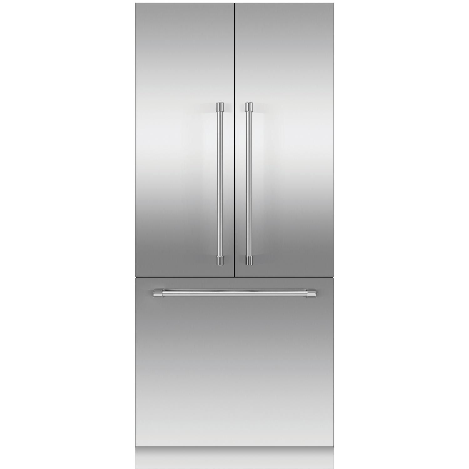 Fisher Paykel Professional Formerly Dcs 84 Inch Built In French Door Refrigerator With Stainless Steel Panels Stainless Steel Panels Stainless Steel Refrigerator Panel Doors