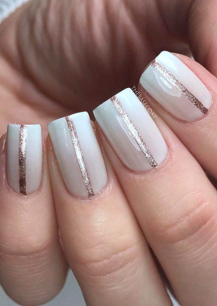 The Salon Chic Nail Art Design That You Can Easily Try At Home Ad