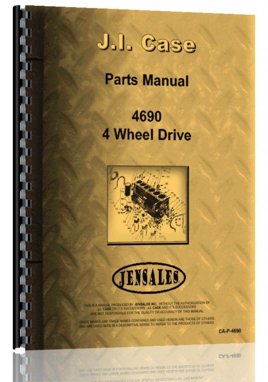 Case 4690 Tractor Parts Manual