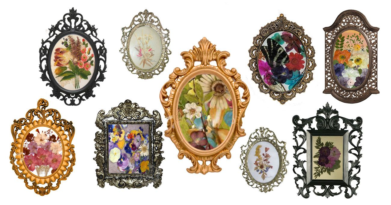 Vintage Frames 7 Creative Wedding Ideas Vintage Picture Frames