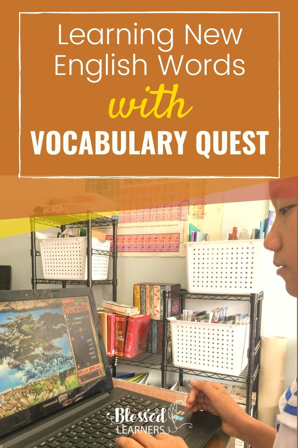 English Vocabulary Program for Middle School, Vocabulary