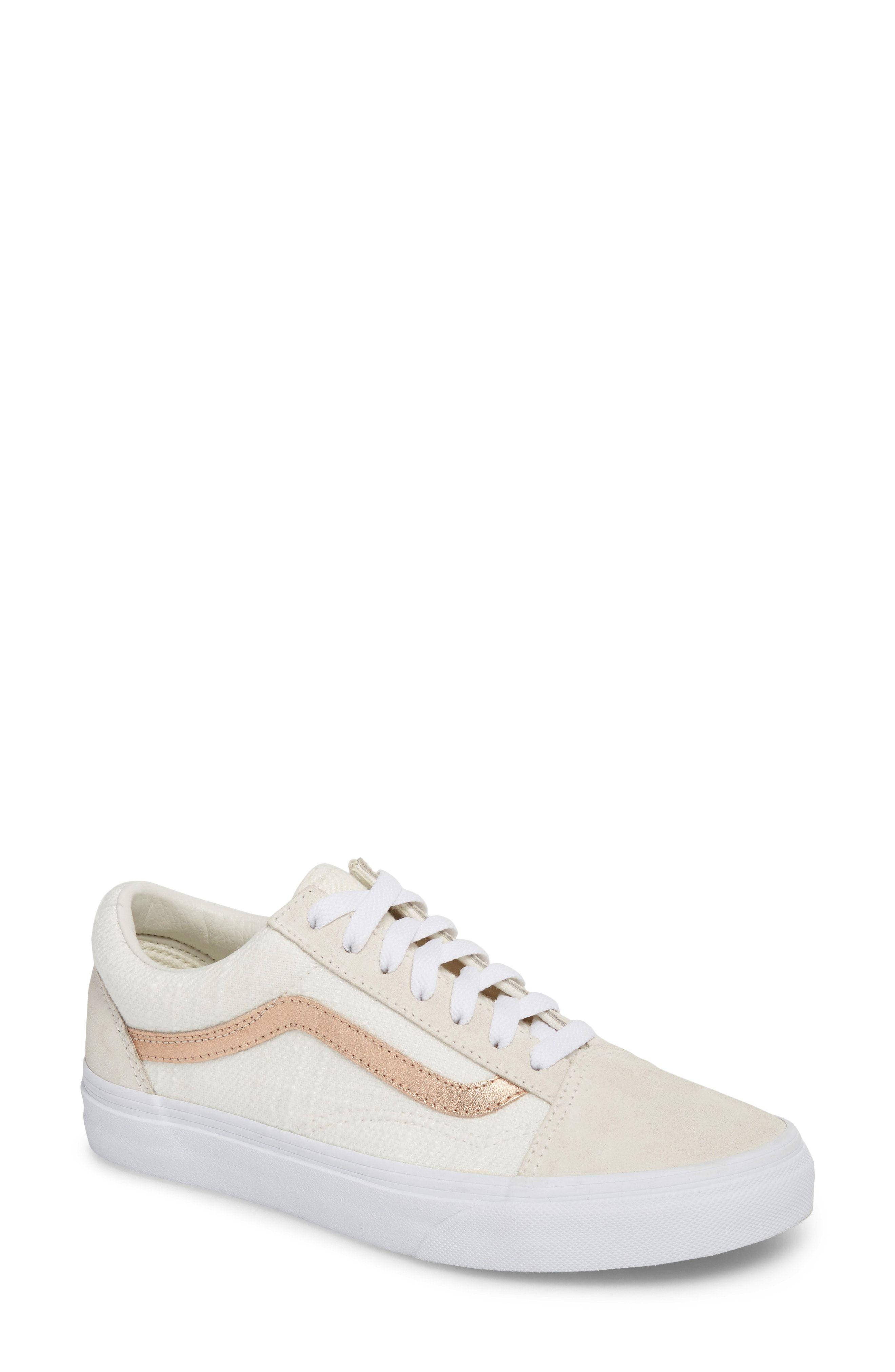 nordstrom #nsale rose gold vans old skool sneaker   Sneakers