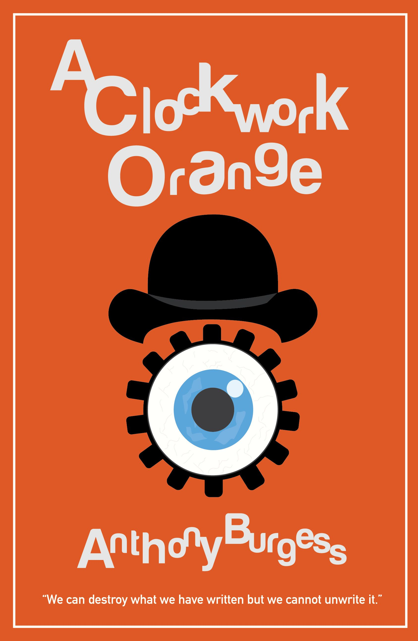 A Clockwork Orange by Anthony Burgess Book Poster, 2020