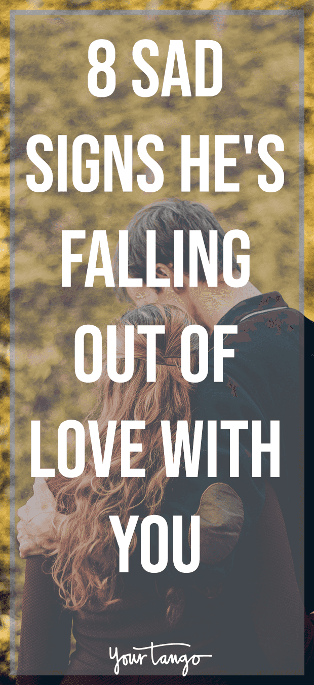 Signs that he is falling in love with me