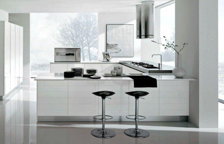 cocinas blancas - Buscar con Google | kitchen | Pinterest | Cocina ...
