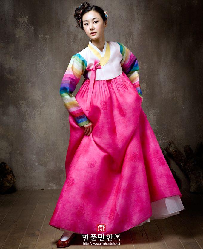 결혼한복 #민한복 #신부한복 | Hanbok | Pinterest