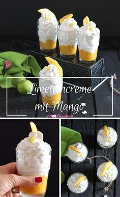 schnelles rezept fruchtige limettencreme mit mango nachtisch rezepte tortenf llungen und. Black Bedroom Furniture Sets. Home Design Ideas