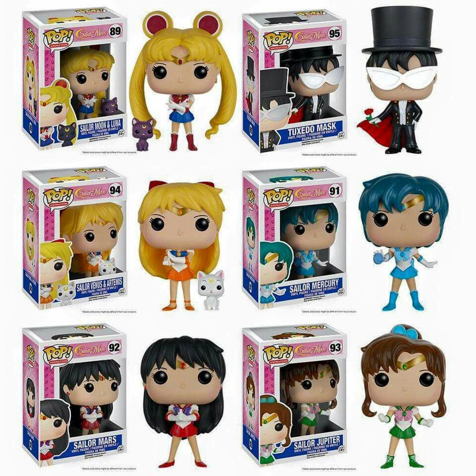 Sailor Moon Funko Pop Vinyls! (With images) Funko pop