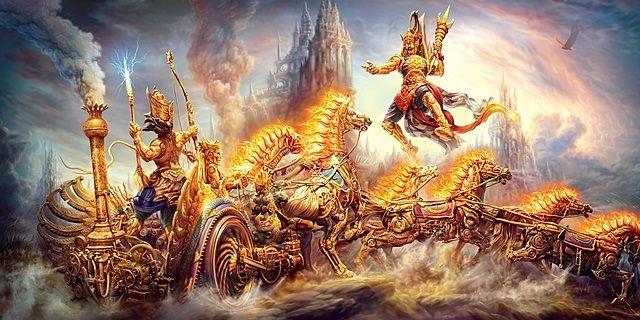 mahabharat war dating