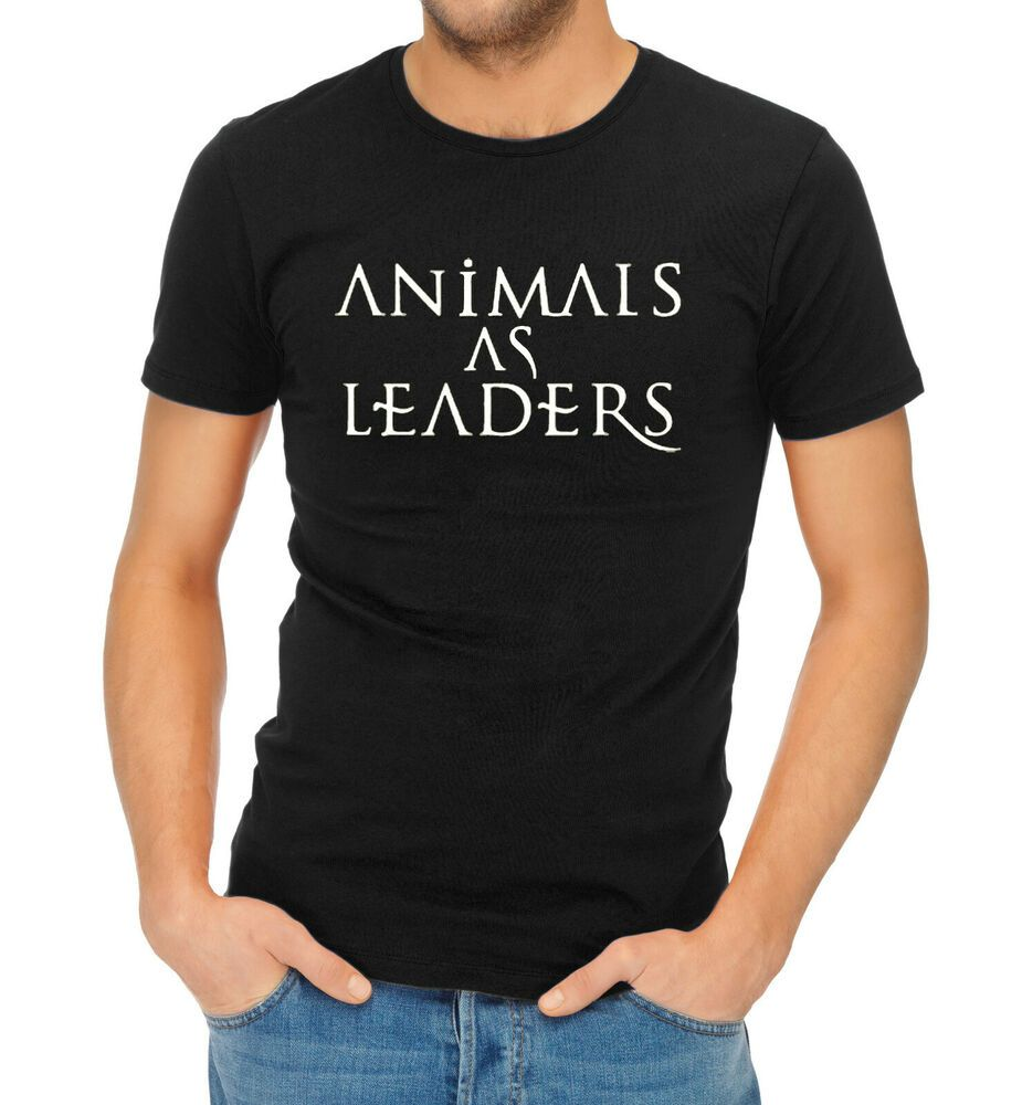 Details About Animals As Leaders Logo T Shirt T Shirt Leader