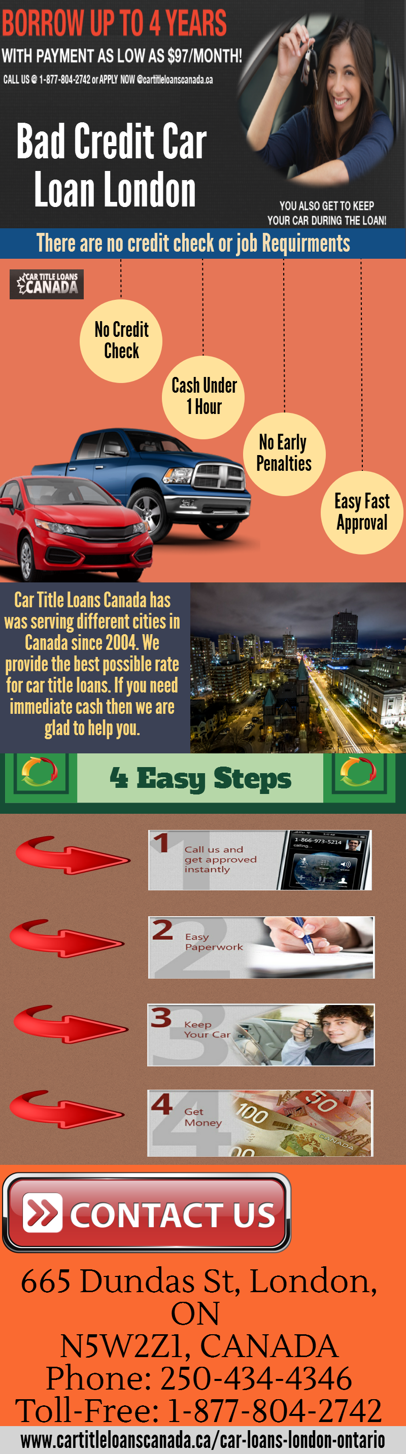 Get A Hassle Free Car Title Loans In London Our Loan Scheme Based On The Price Of Your Vehicle And Programs Loans For Bad Credit Car Loans Bad Credit Car Loan