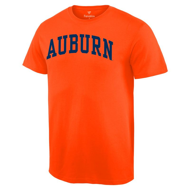 Auburn Tigers Basic Arch T-Shirt - Orange  c05579277cf