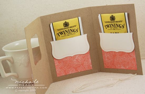 Tea bag trifold