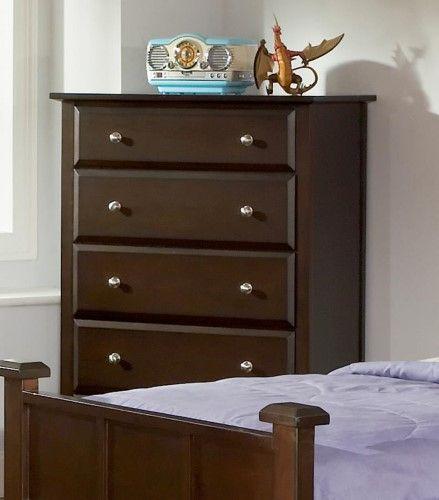 Coaster Fine Furniture Chest Cappuccino 400755, Beige