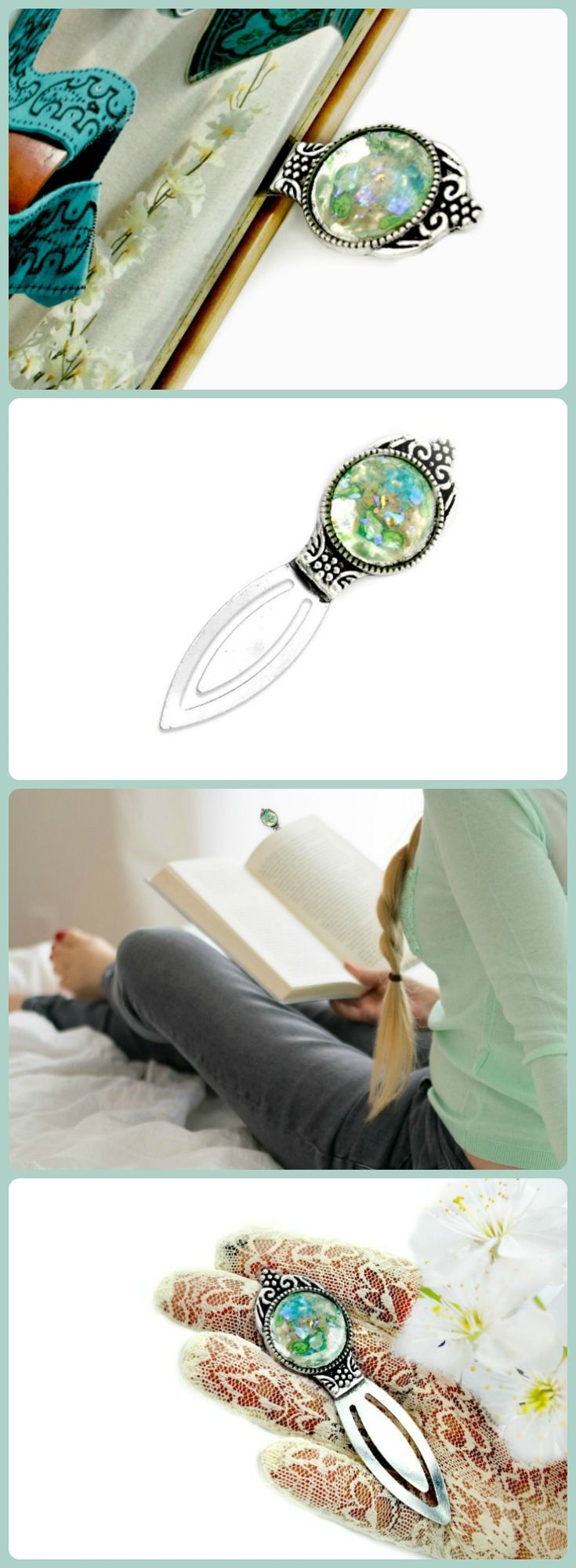 Nice Best Friend Gifts, Jewelry, And Personal Accessories By TerlisDesigns.  Turquoise Bookmark Awesome, Bookmark Design Handmade, Bookmark Reading Book  Lovers ...