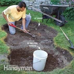How to build a low maintenance water feature stone for Backyard pond maintenance