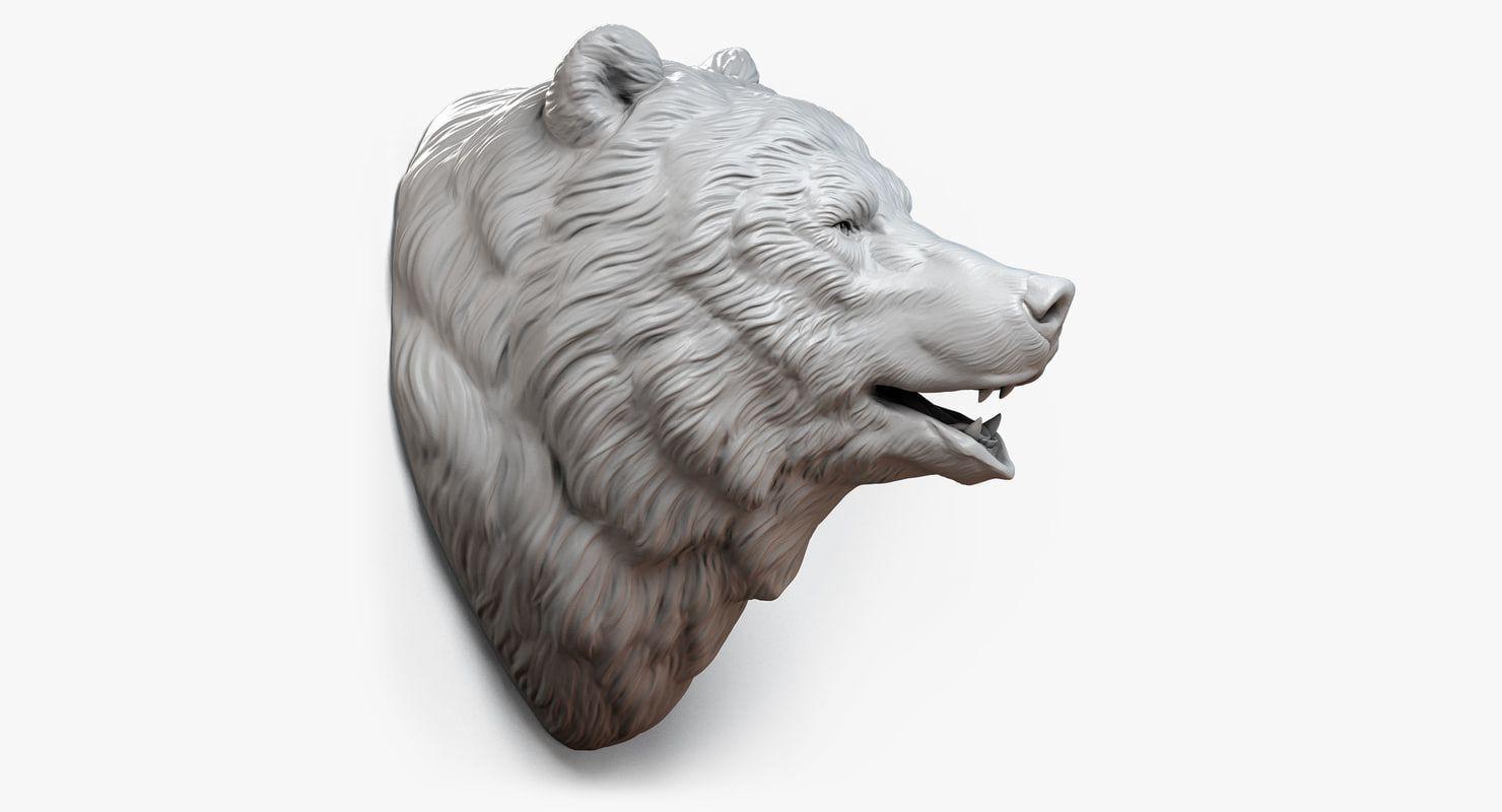 картинка голова медведя за кустом сопутствует везенье