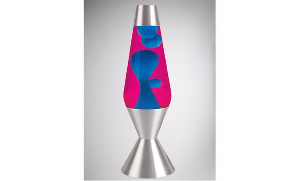 Large lava lamp blue pink 16 3 retro decor mood light party dorm office