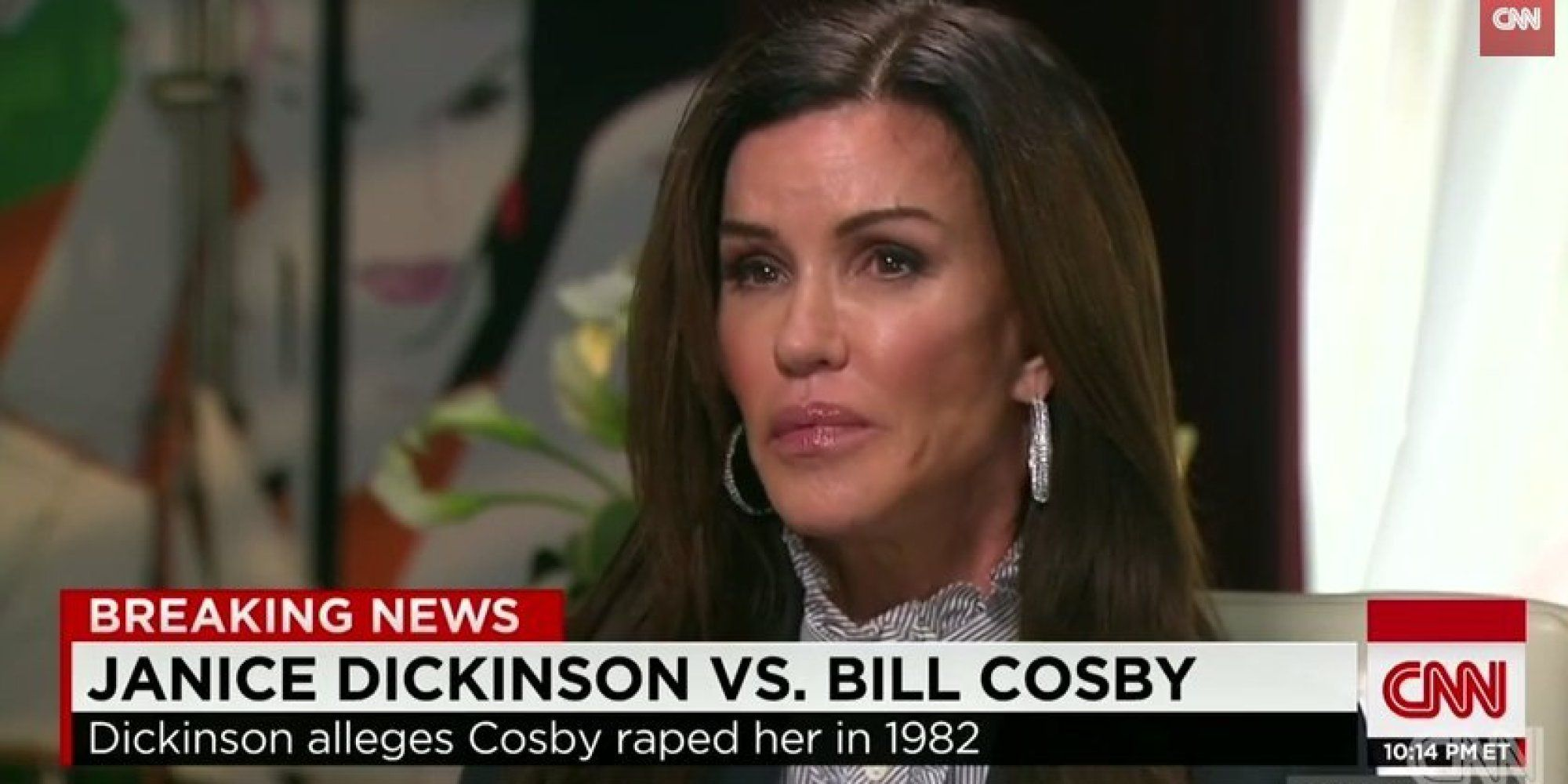 Last month, former supermodel Janice Dickinson came forward alleging that Bill Cosby drugged and raped her in 1982, and now she's speaking out again.   [WARNING: This post contains language that some may find graphic or triggering.]   In an inter...