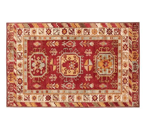 Martine Persian Style Rug Rugs Area Rugs Pottery Barn