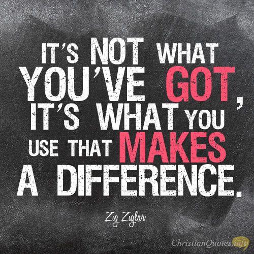 3 Ways To Make A Difference: Zig Ziglar