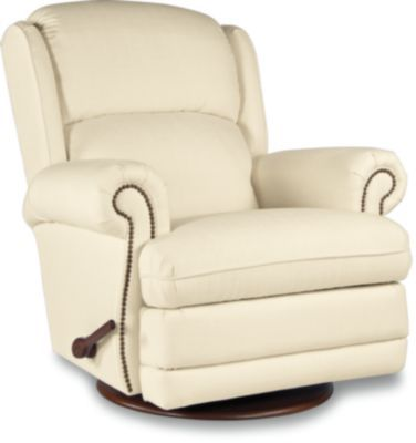 Kirkwood Gliding Recliner W Brass Nail Head Trim In 2019