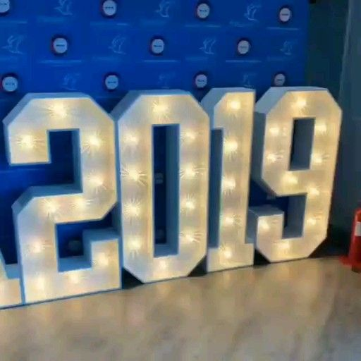 Our #lights looking amazing set up for the Residents Awards 2019 at the Cliffs Pavilion #ra2019  #awards #awardshow #lightupletters #letterlights #giantletters #Southend @cliffspavilion #estuaryhousing #giantnumbers #lightupnumbers