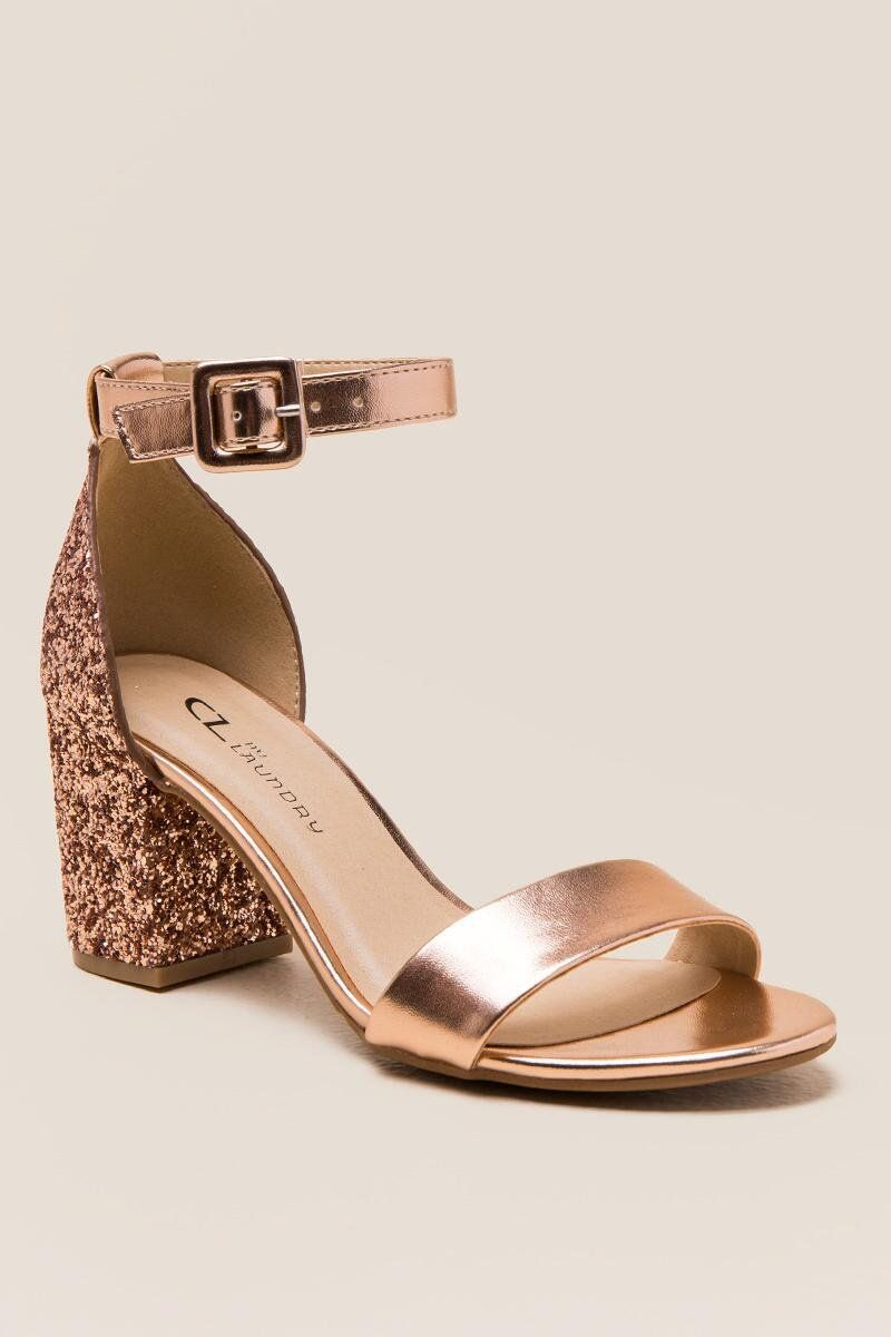 Bridal shoes low heel, Block heels