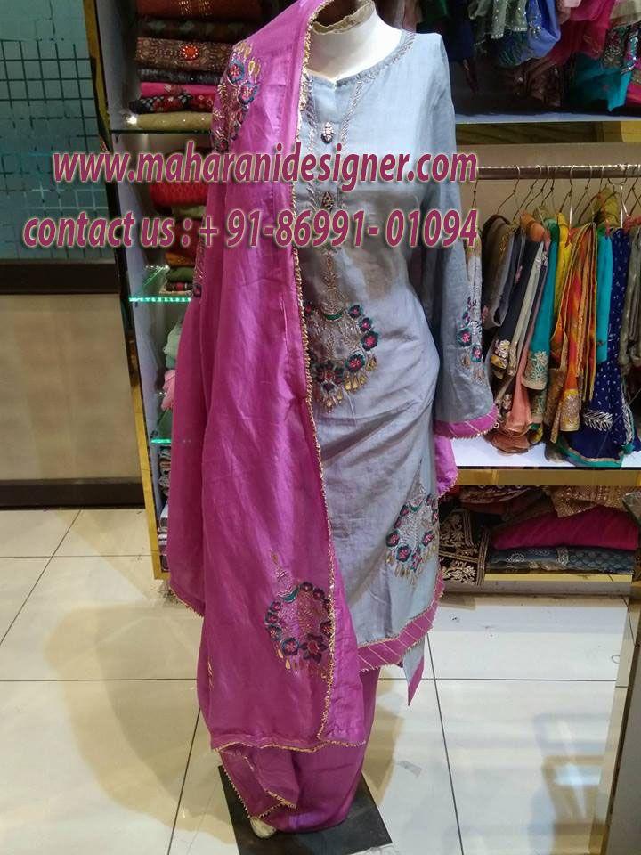 ₹4500.00 Buy Designer Salwar Suit India Maharani Designer Boutique ...