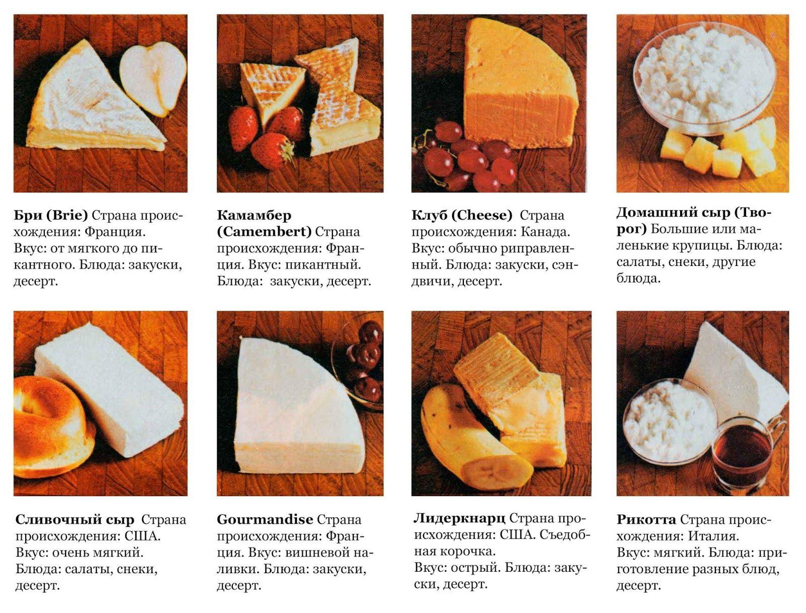 сми выяснили, все виды сыра с картинками один способ