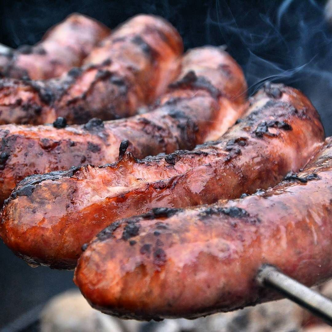 Grilled Chorizo Sausages Pure Happiness Grill Grilled Chorizo Sausage Barbecue Bbq Grillen Churrasco Asado Skew Gourmet Cooking Sausage Cooking