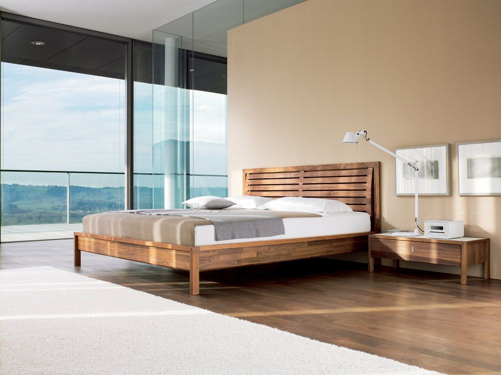 Valore Horizontal Slat Bed By Team 7 | European Furniture