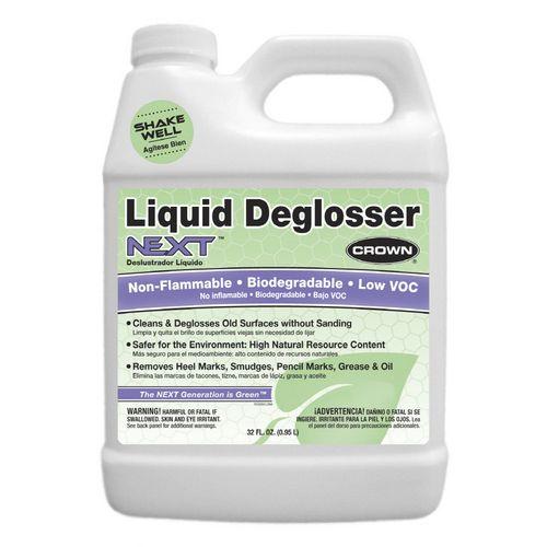 For Painting Metal Lockers: Crown Quart Liquid Deglosser