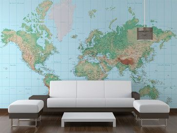 Home wallpaper of the world cant wait to have this put on my wall world maps print your world map at any size required customise your map wallpaper with place labels time zones as well as changing colours gumiabroncs Gallery